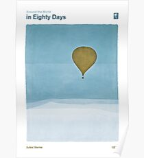Around the World in Eighty Days - Jules Verne Poster