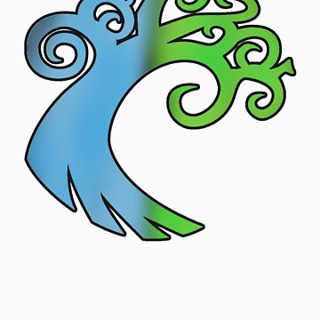 Simic Signet by KeithWoodpecker