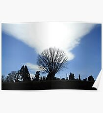 A Holy Rood Silhouette Poster