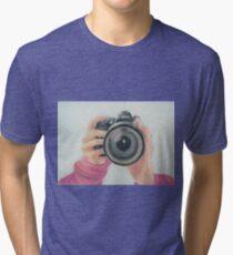 Self Portrait of my Hands Tri-blend T-Shirt