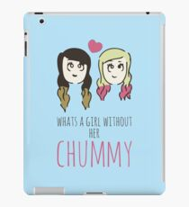 What's A Girl Without Her Chummy iPad Case/Skin