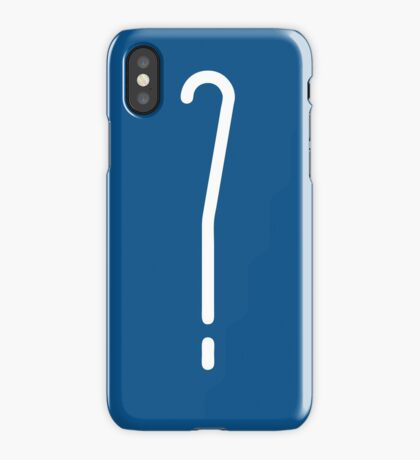 Question Mark - style 10 iPhone Case