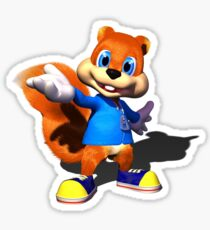 Conker Sticker