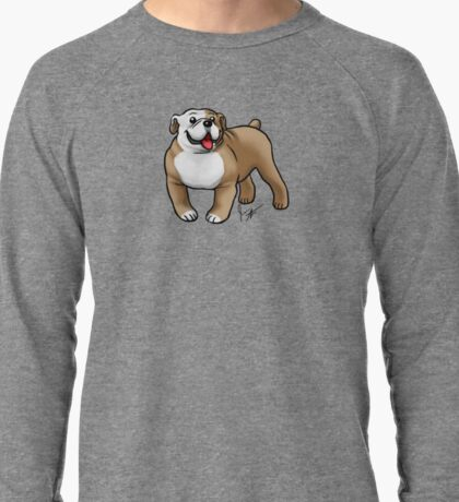 English Bulldog Lightweight Sweatshirt