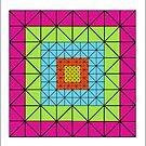 416 TRIANGLES ARTWORK by RainbowArt