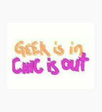GeekChic Art Print