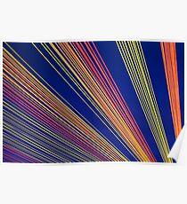 Rainbow Strings Poster