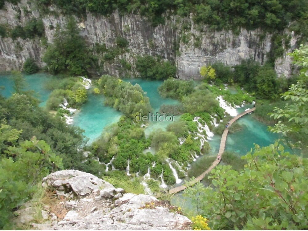 Plitvice Lakes National Park Croatia by deltidor