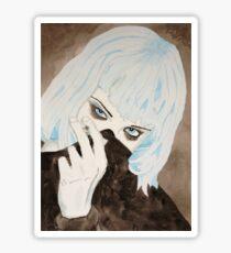 Alice Glass Watercolour Sticker