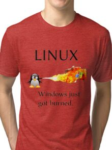 Windows Might Need Some Ice Tri-blend T-Shirt