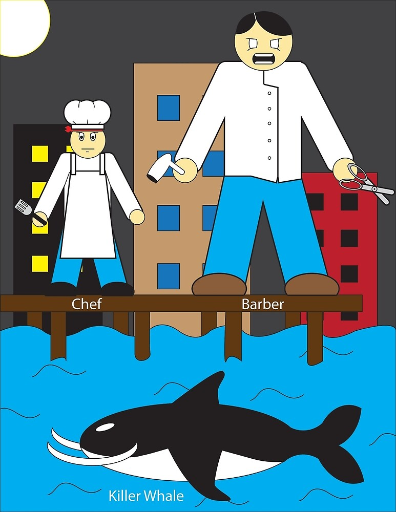 The Barber and the Chef by 1814