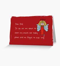 Bullet Angel  Greeting Card