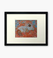 Impressionistic Persian Framed Print