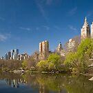 Central Park West in Spring by Ellen McKnight