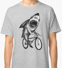 Shark Ride Bicycle  Classic T-Shirt