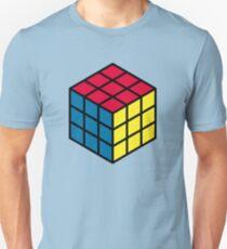 Zauberwürfel sechseckiges Muster Unisex T-Shirt