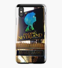 Finding Neverland Marquee iPhone Case