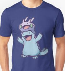 Unaware Goomy & Quagsire T-Shirt