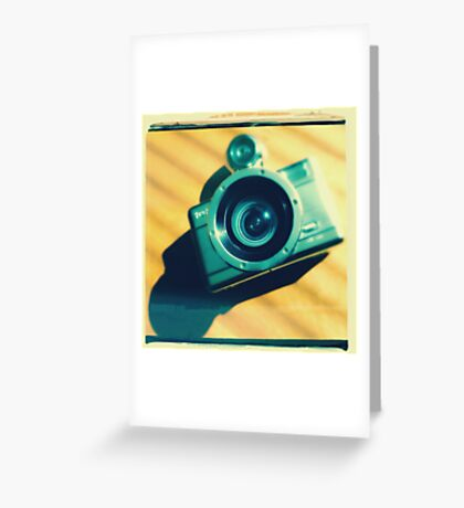Lomography Greeting Card