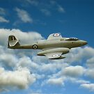 A77 Gloster Meteor by Steven  Agius