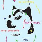 much doge birthday by W4rnings