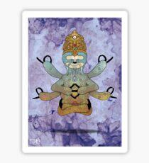 Hindu Sloth Sticker