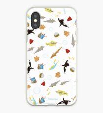 Vinilo o funda para iPhone La vida acuática con Steve Zissou: repetir patrón