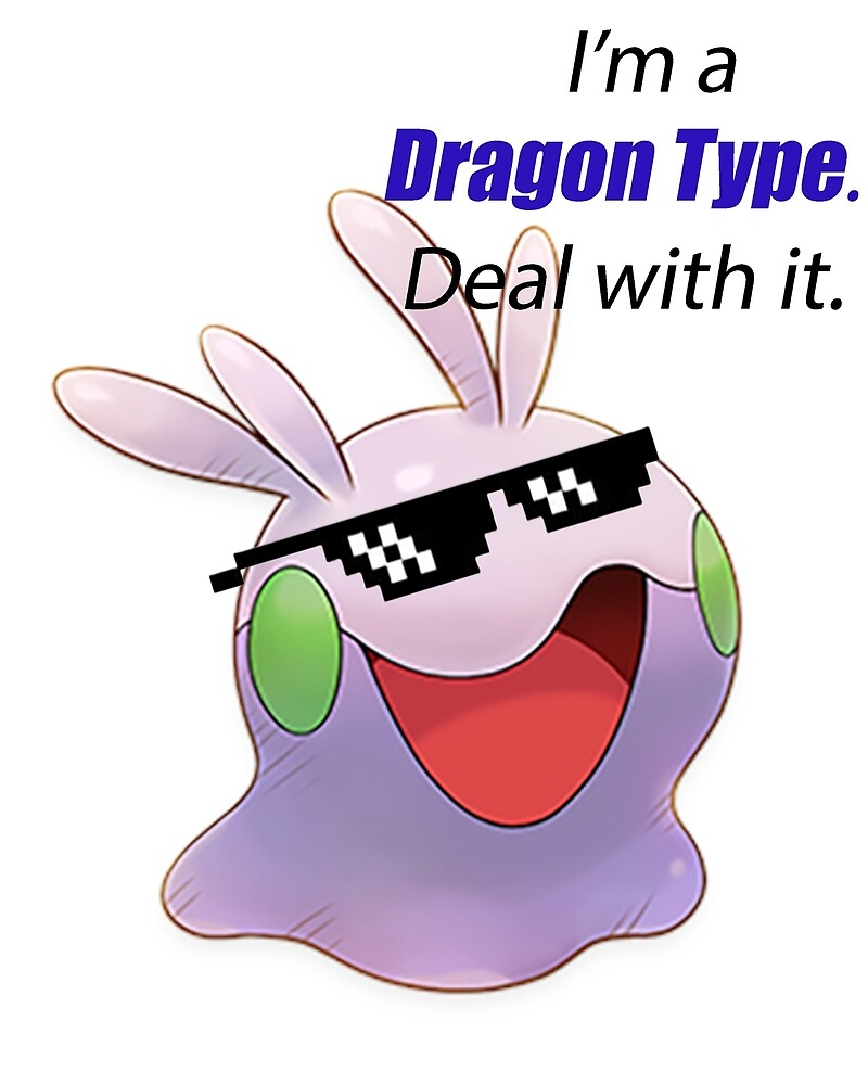 Goomy is a Dragon Type by Poke Monsters