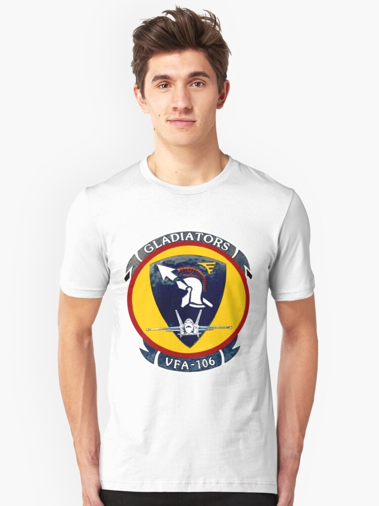 VFA-106 Gladiators Unisex T-Shirt Front