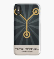 Retro Back To The Future iPhone Case