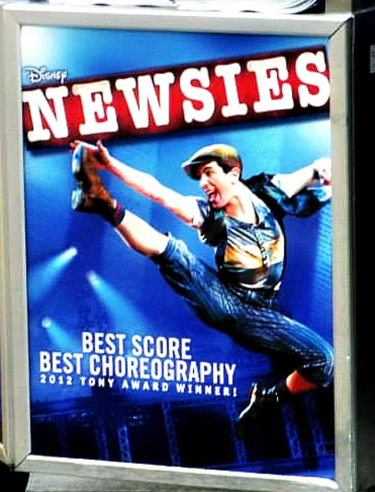 Newsies the Musical by emjorgenson