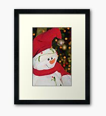 Frosty Christmas 1 Framed Print