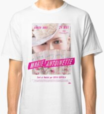 Marie Antoinette French Movie Poster Classic T-Shirt