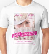 Marie Antoinette French Movie Poster T-Shirt