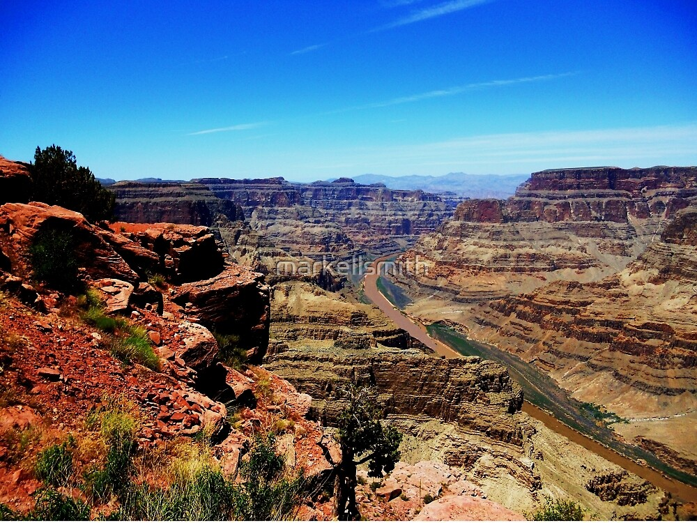 The Mighty Grand Canyon by markellsmith