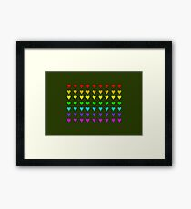 Love Is All Around II Framed Print