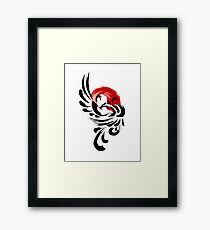 Brush Phoenix Rising  Framed Print