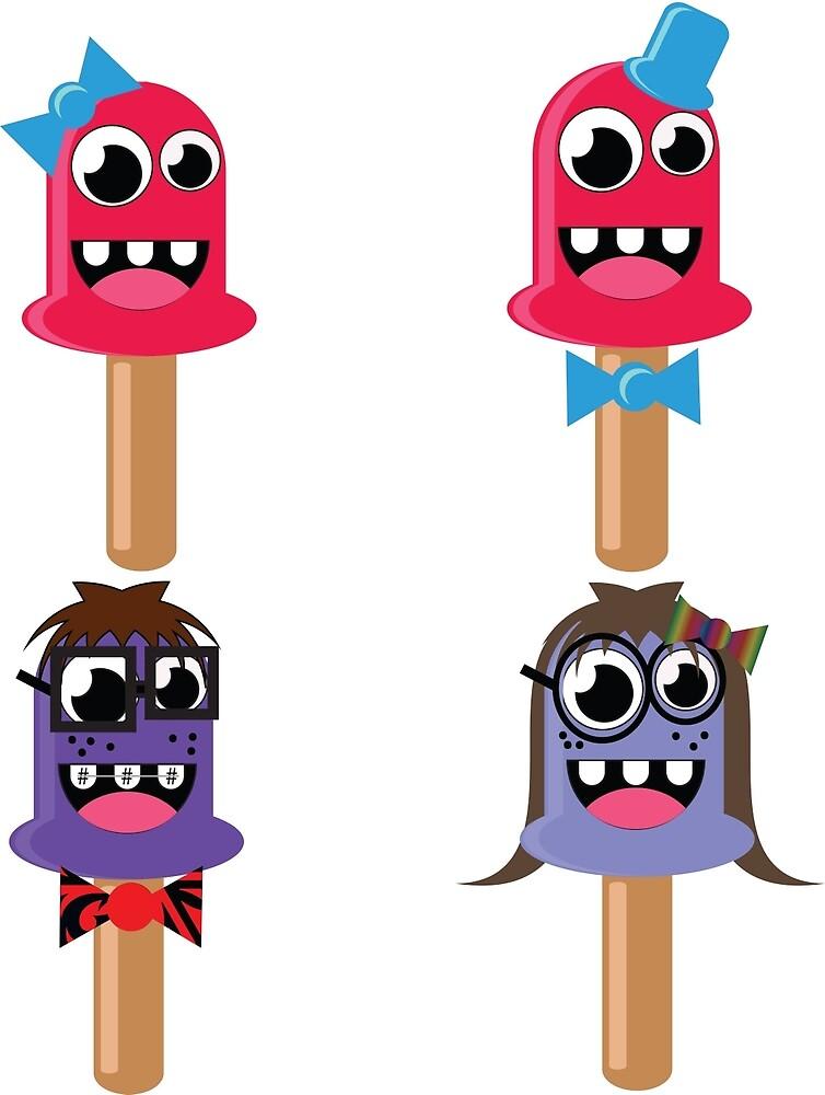 Nerdy popsicles  by DNovak