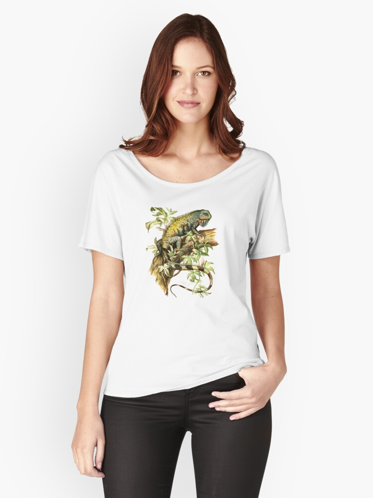 Vintage Iguana Women's Relaxed Fit T-Shirt Front