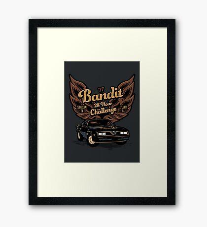 The Bandit Framed Print