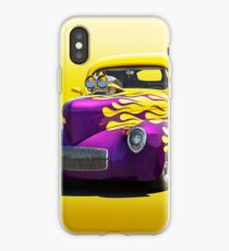 1941 Willys Coupe 'Yellow Studio' iPhone Case