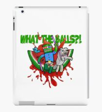 What The Balls!?! iPad Case/Skin