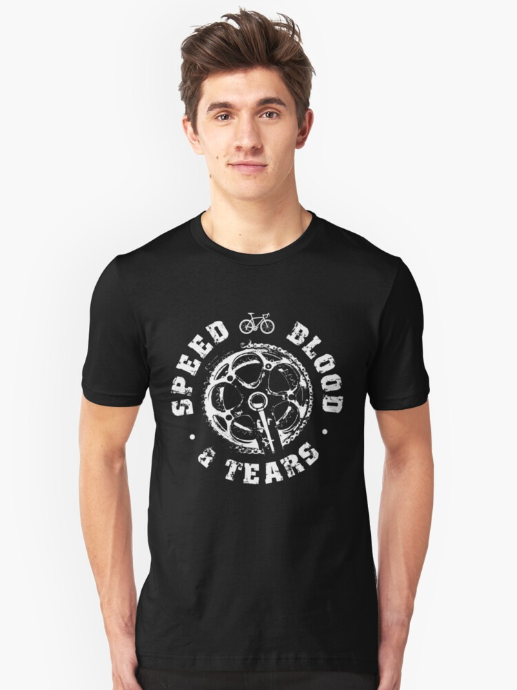 Cycling shirts - Speed Blood and Tears Unisex T-Shirt Front