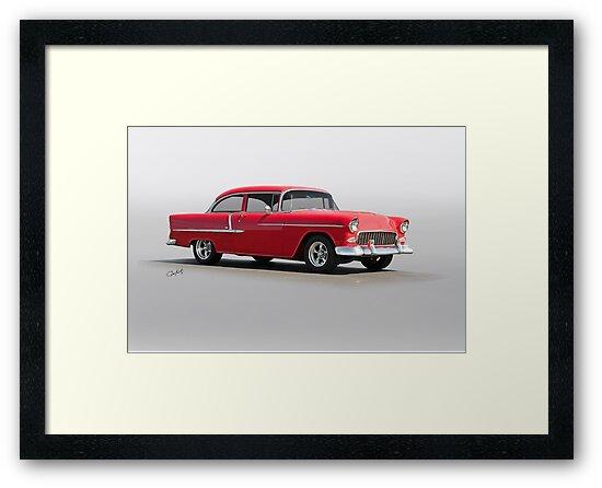 1955 Chevrolet 150 Post Coupe by DaveKoontz