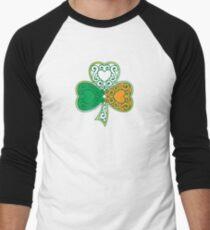 Shamrock and Heart Design T-Shirt