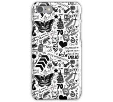 1D Tattoos 2015 iPhone Case/Skin