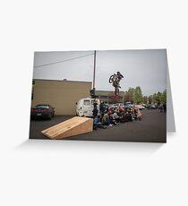 Thor's 60k Jump Greeting Card