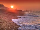 Brighton Seafront Sunrise 1 - HDR by Colin  Williams Photography