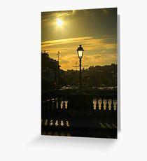Cork bridge Greeting Card
