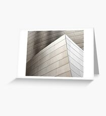 Disney Concert Hall Architecture I Greeting Card